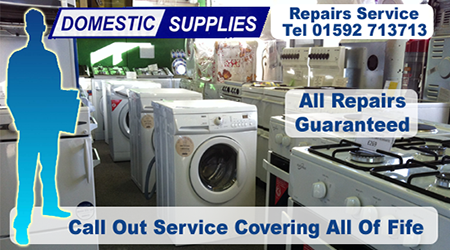 Appliance and washing machine spares and repair service from Domestic Supplies Scotland.