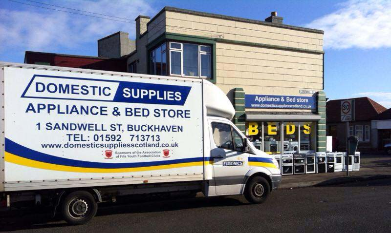 Domestic Supplies Scotland Household Appliances and Bed Showroom in Buckhaven Fife