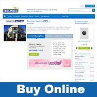 Order online from Euronics and get delivery in Fife by Domestic Supplies.