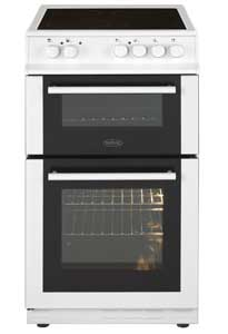 Belling white cooker with double oven Euronics Domestic Supplies Scotland Fife Dealer.