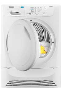 Zanuss 7kg Condenser Tumble Dryer Euronics Domestic Supplies Scotland Fife Dealer